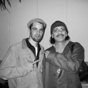 Mic Donet mit Carlos Santana
